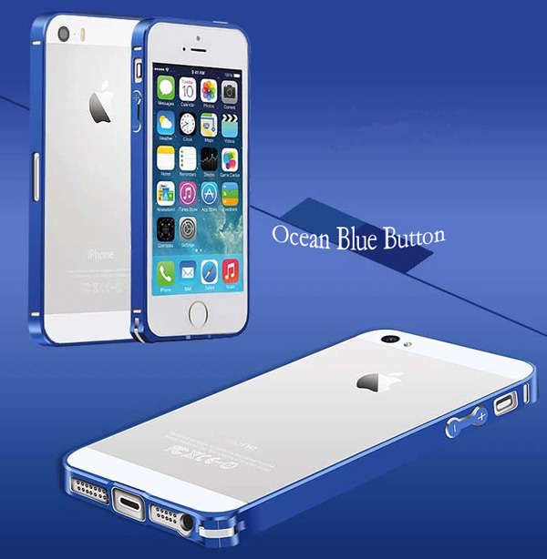 Gold Iphone 5 Bumper Protection IPS502_44