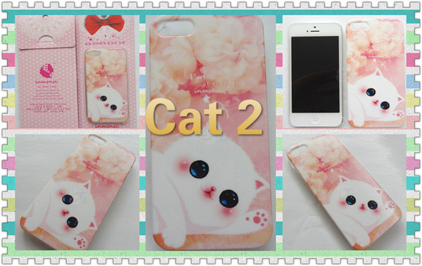 Cute Animal Dog And Cat iPhone 5s Cases IPS505_6