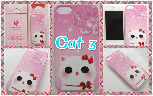 Cute Animal Dog And Cat iPhone 5s Cases IPS505_7