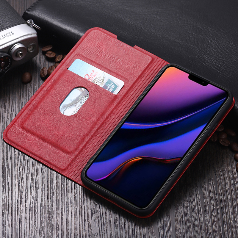 Best Leather iPhone 11 Pro Max Case With Card Slot IPS507_13