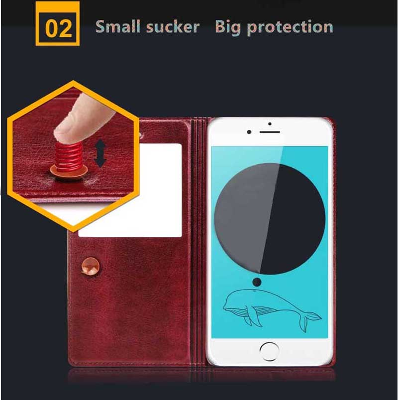 Good Leather Protective iPhone 6 And Plus Cases And Cover IPS603_14