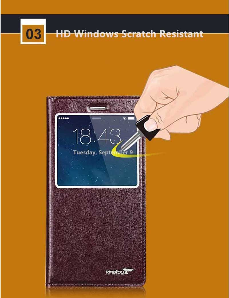 Good Leather Protective iPhone 6 And Plus Cases And Cover IPS603_15