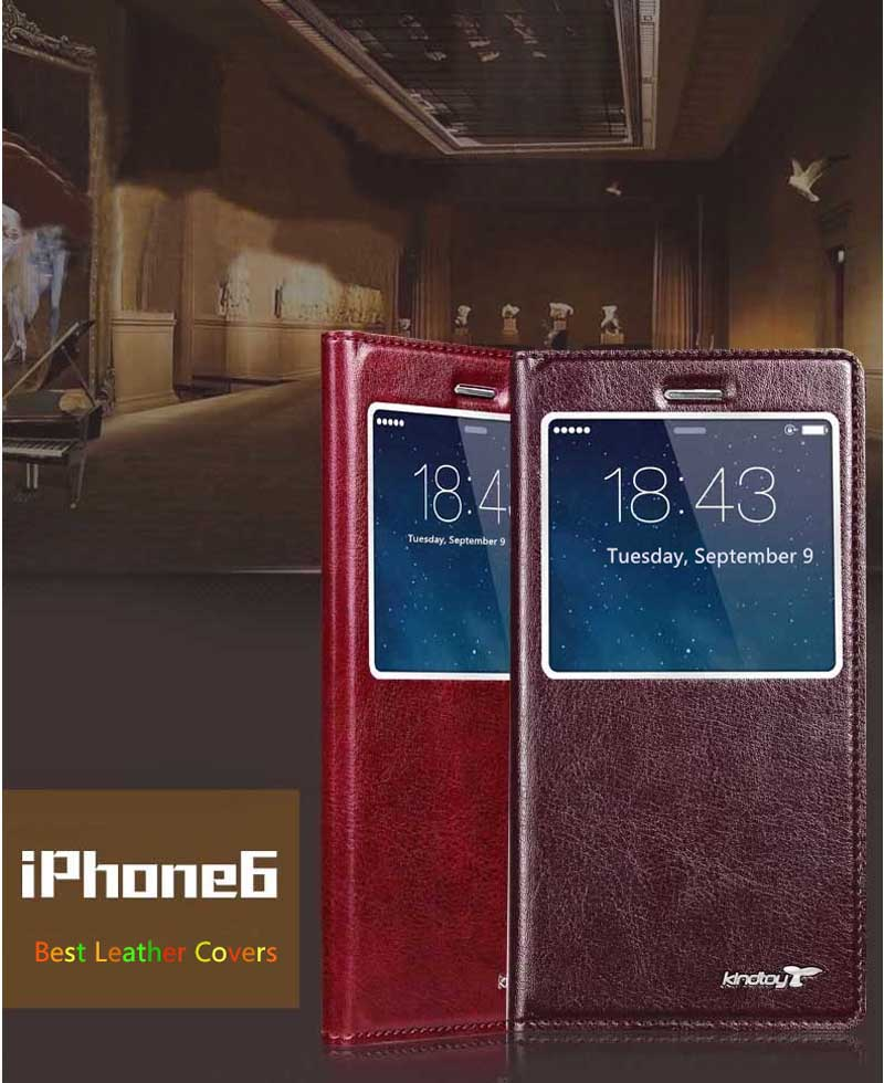 Good Leather Protective iPhone 6 And Plus Cases And Cover IPS603_9