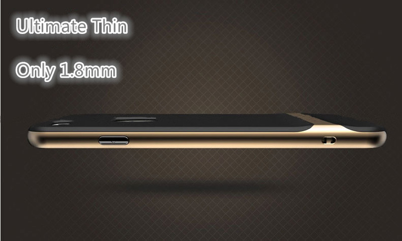 Best Golden Metal Protective iPhone 8 7 6 6S Plus Case Cover For Apple IPS605_13