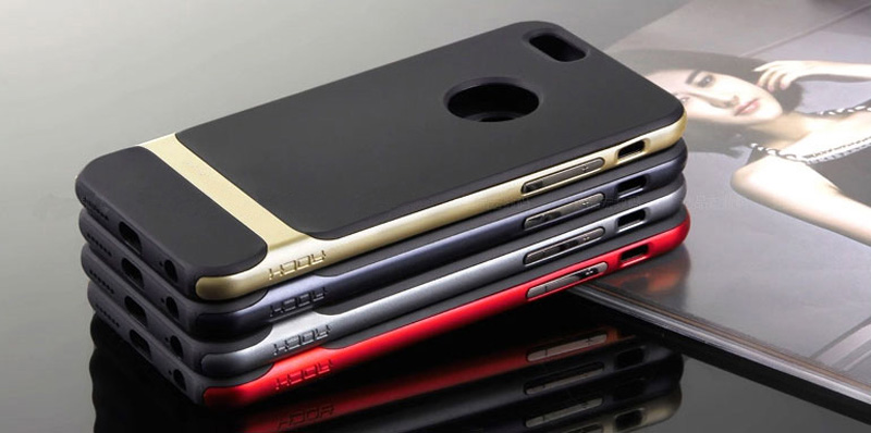 Best Golden Metal Protective iPhone 8 7 6 6S Plus Case Cover For Apple IPS605_20