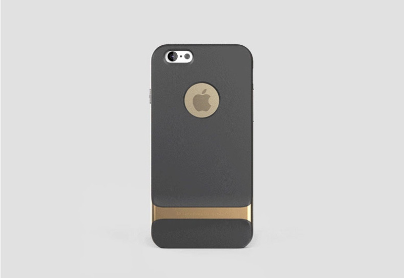 Best Golden Metal Protective iPhone 8 7 6 6S Plus Case Cover For Apple IPS605_22