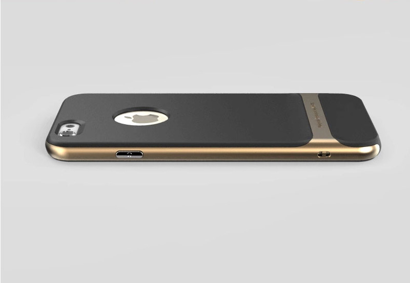 promo code ec735 416e0 Best Golden Metal Protective iPhone 8 7 6 6S Plus Case Cover For Apple  IPS605