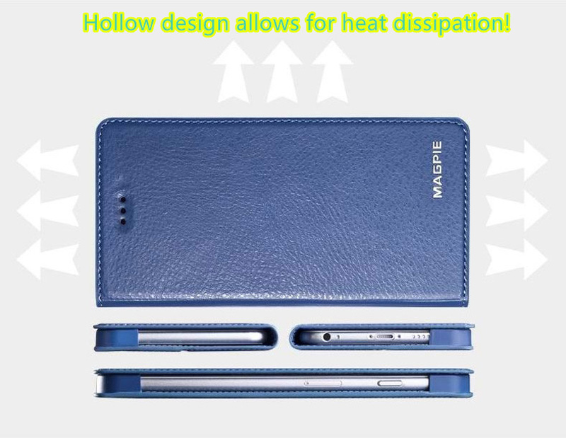 Best Leather iPhone 6 And Plus Cover With Card Slot Stand IPS610_10