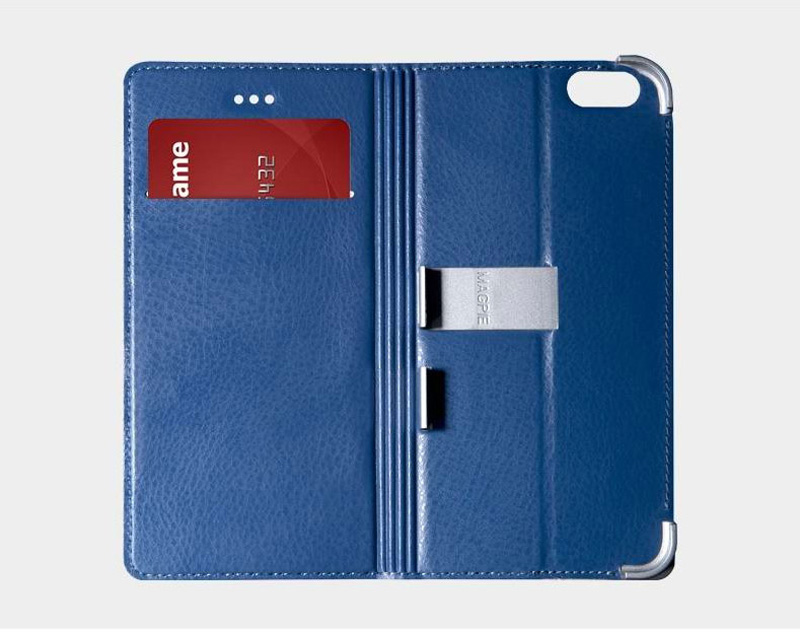 Best Leather iPhone 6 And Plus Cover With Card Slot Stand IPS610_15