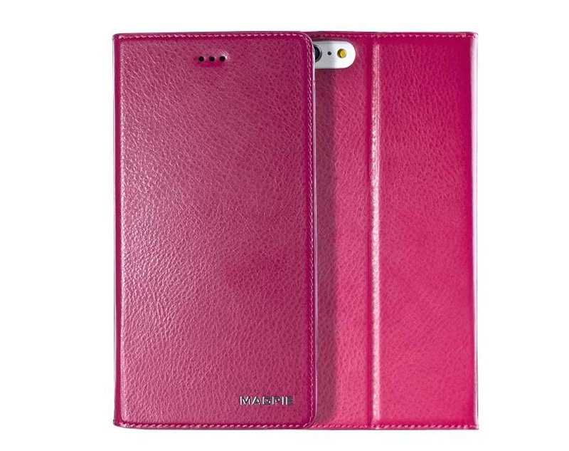 Best Leather iPhone 6 And Plus Cover With Card Slot Stand IPS610_17