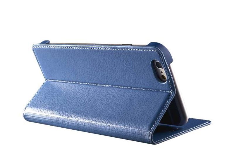 Best Leather iPhone 6 And Plus Cover With Card Slot Stand IPS610_19