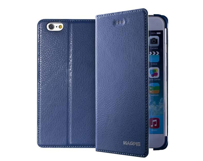 Best Leather iPhone 6 And Plus Cover With Card Slot Stand IPS610_20
