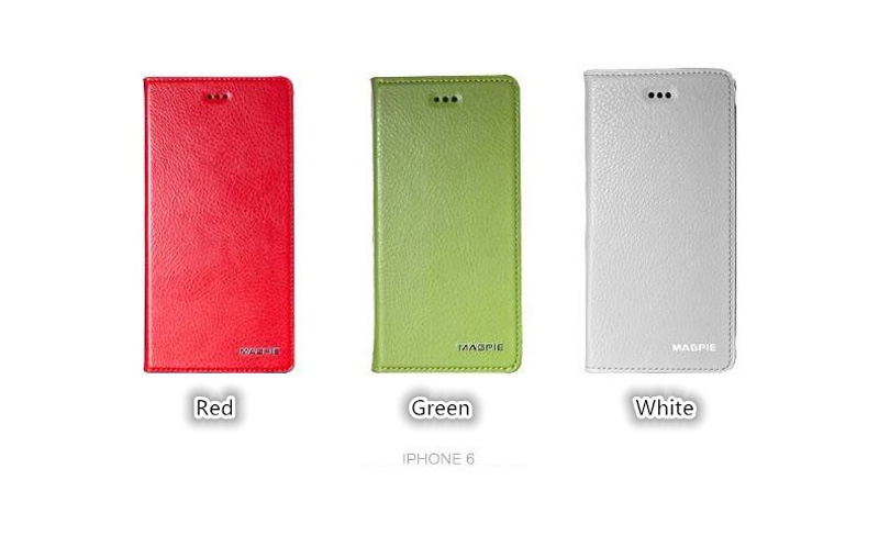 Best Leather iPhone 6 And Plus Cover With Card Slot Stand IPS610_21