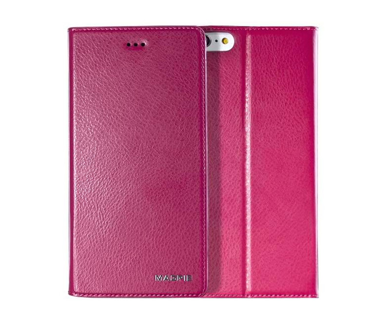 Best Leather iPhone 6 And Plus Cover With Card Slot Stand IPS610_23