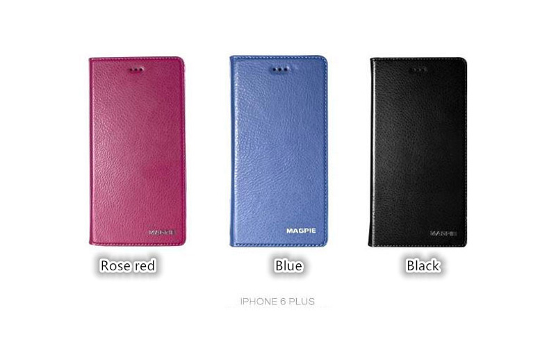 Best Leather iPhone 6 And Plus Cover With Card Slot Stand IPS610_24