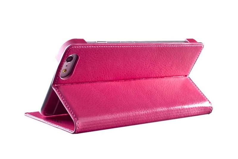 Best Leather iPhone 6 And Plus Cover With Card Slot Stand IPS610_25