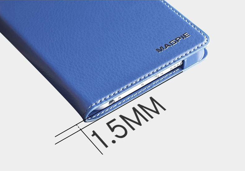 Best Leather iPhone 6 And Plus Cover With Card Slot Stand IPS610_9