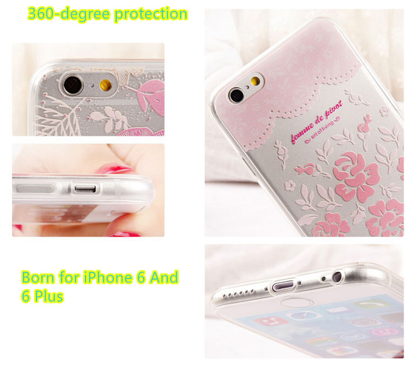 Best Laser Painting Pattern iPhone 6 And 6 Plus Cases IPS611_14
