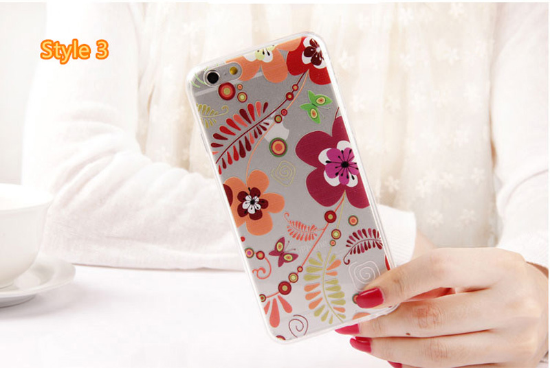 Best Cool Laser Painting Pattern Silicone Apple iPhone 6 And 6 Plus Cases IPS611_24