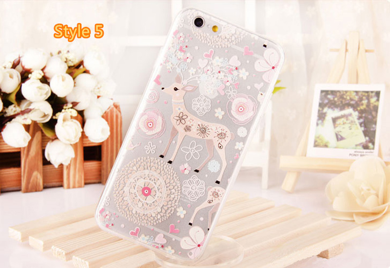 Best Cool Laser Painting Pattern Silicone Apple iPhone 6 And 6 Plus Cases IPS611_28