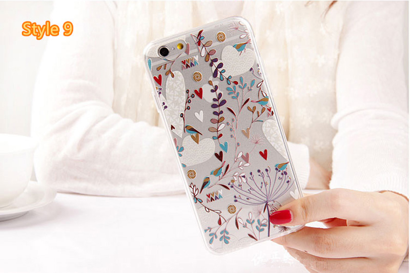 Best Cool Laser Painting Pattern Silicone Apple iPhone 6 And 6 Plus Cases IPS611_36