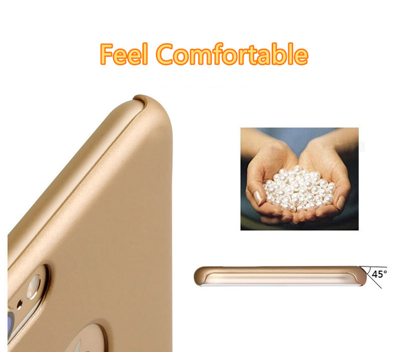 Best Luxury Super Toughness Gold Apple iPhone 6 Plus Cases IPS613_14