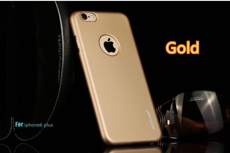 Best Luxury Super Toughness Gold Apple iPhone 6 Plus Cases IPS613_25