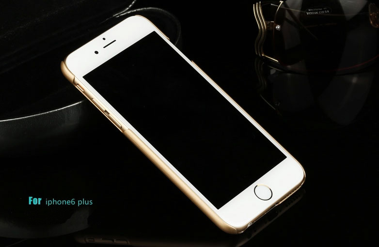 Best Luxury Super Toughness Gold Apple iPhone 6 Plus Cases IPS613_26