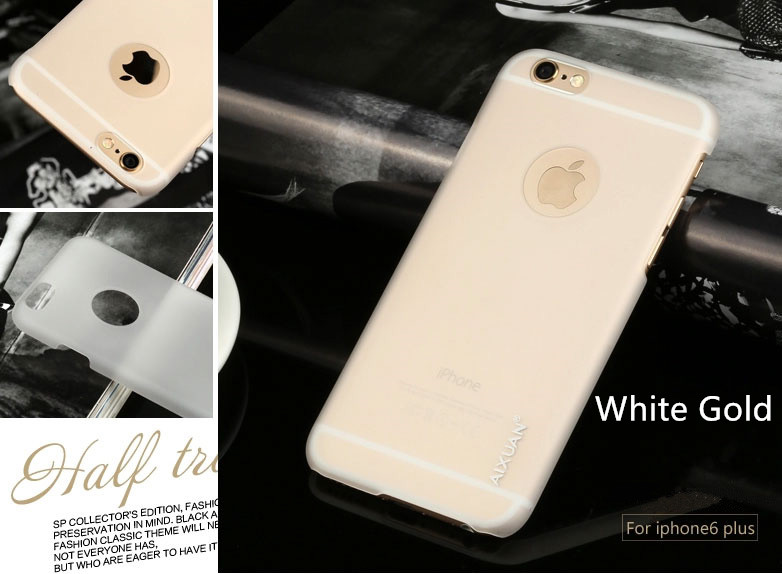 Best Luxury Super Toughness Gold Apple iPhone 6 Plus Cases IPS613_29