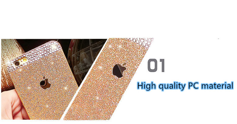 2017 Best Unique Gold Cover For iPhone 8 7 6 And 6 Plus 6S Case IPS616_8