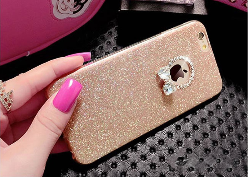 2018 Best Gold iPhone 8 7 6S And 6 Plus 5S SE Case Cover With Dazzling Diamond IPS623_11