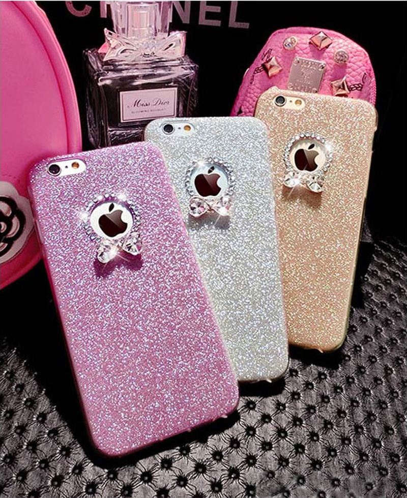 2018 Best Gold iPhone 8 7 6S And 6 Plus 5S SE Case Cover With Dazzling Diamond IPS623_6