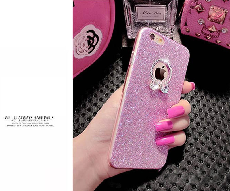 2018 Best Gold iPhone 8 7 6S And 6 Plus 5S SE Case Cover With Dazzling Diamond IPS623_8