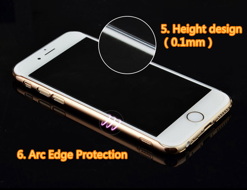 Ultra-thin Transparent Protective Sleeve Cases With Flower Diamond For iPhone 6 And Plus IPS625_14