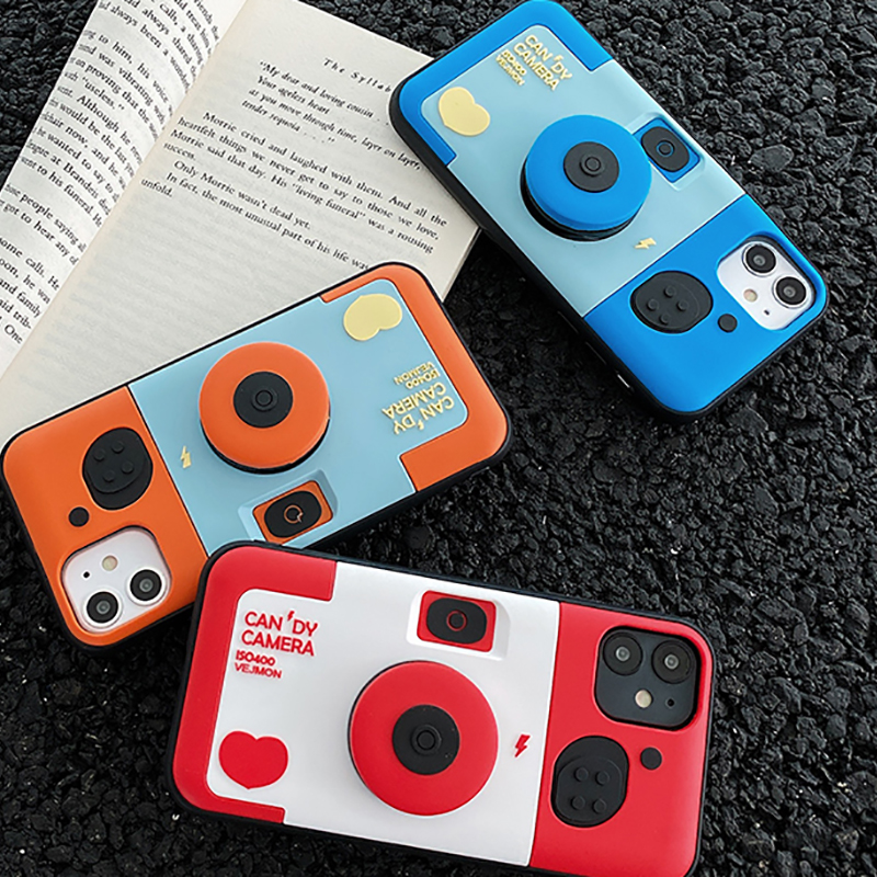 Creative Camera Case For iPhone 11 XS Max 8 7 SE Plus IPS627_8