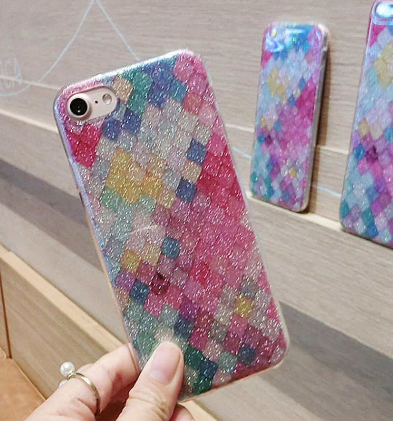 Glitter Sparkle Case Cover For iPhone 8 7 6 6S Plus 5S SE IPS628_11