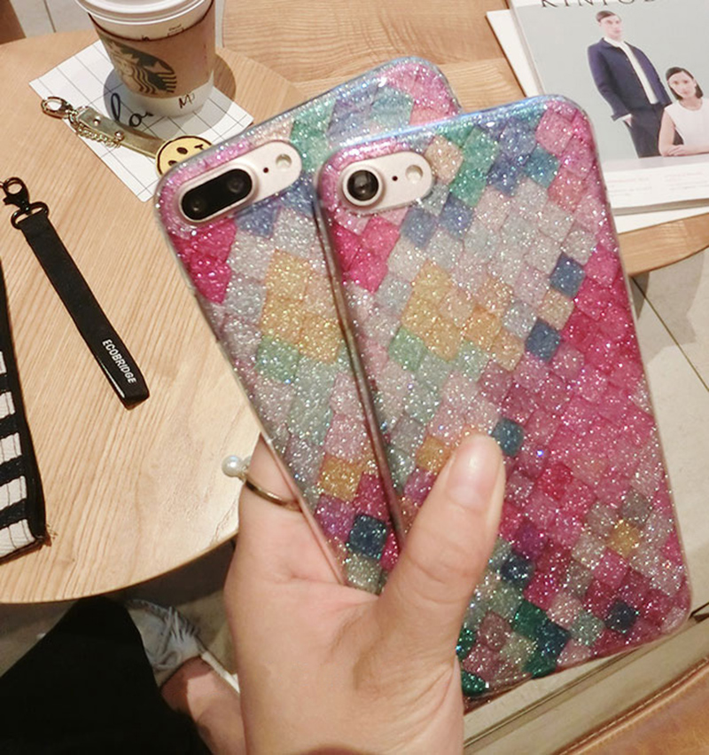Glitter Sparkle Case Cover For iPhone 8 7 6 6S Plus 5S SE IPS628_14