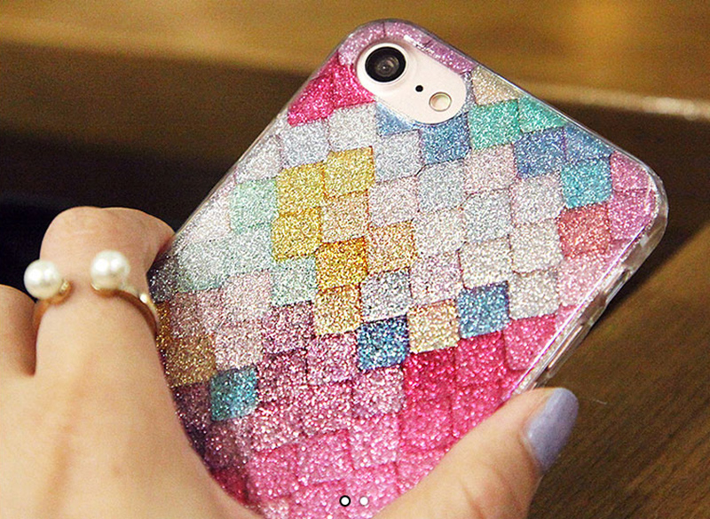Glitter Sparkle Case Cover For iPhone 8 7 6 6S Plus 5S SE IPS628_16