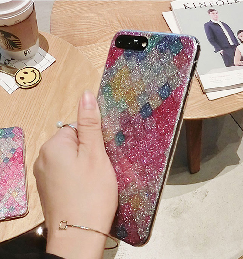 Glitter Sparkle Case Cover For iPhone 8 7 6 6S Plus 5S SE IPS628_8