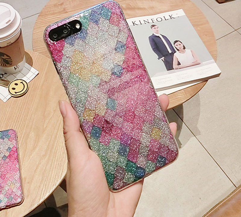 Glitter Sparkle Case Cover For iPhone 8 7 6 6S Plus 5S SE IPS628_9