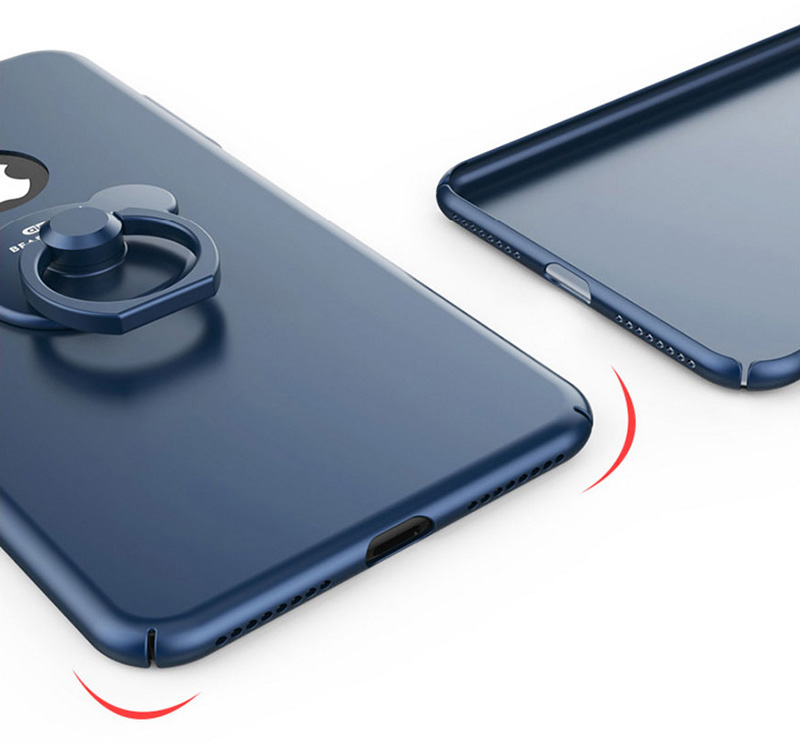 Perfect Blue iPhone X 8 7 6 Plus With Bear Shape Buckle IPS702_13