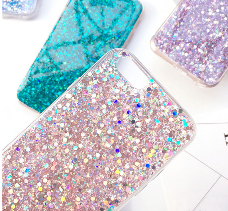 Perfect Glitter iPhone X 8 7 6 6S Plus Silicone Case IPS706_11