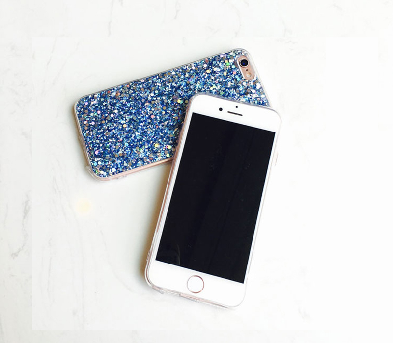 Perfect Glitter iPhone X 8 7 6 6S Plus Silicone Case IPS706_13