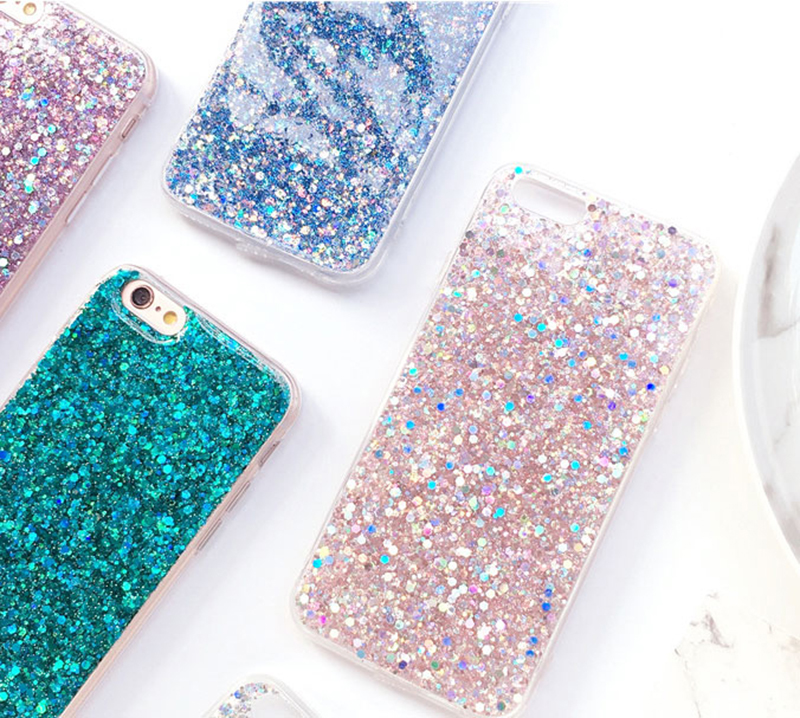 Perfect Glitter iPhone X 8 7 6 6S Plus Silicone Case IPS706_7