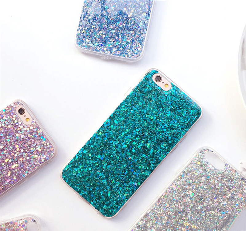 Perfect Glitter iPhone X 8 7 6 6S Plus Silicone Case IPS706_8