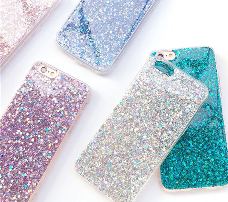 Perfect Glitter iPhone X 8 7 6 6S Plus Silicone Case IPS706_9