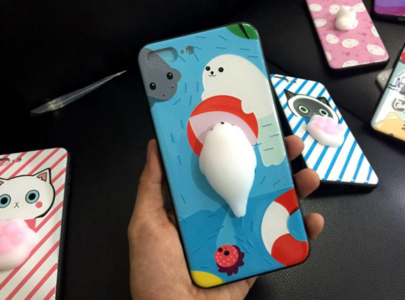 Creative Decompression 3D Case For iPhone 8 7 6 6S Plus IPS714_16