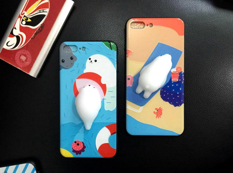 Creative Decompression 3D Case For iPhone 8 7 6 6S Plus IPS714_8