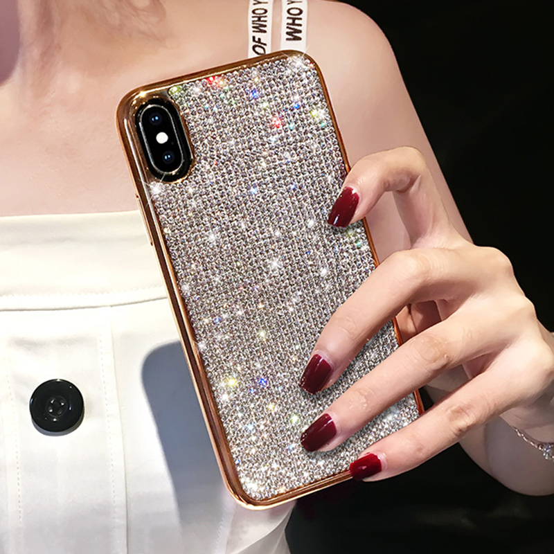 Glitter Diamond Silicone Case For iPhone 11 X XR XS Max IPXSM06_10