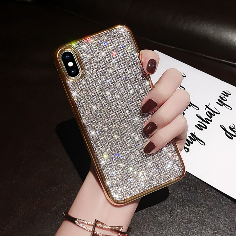 Glitter Diamond Silicone Case For iPhone X XR XS Max IPXSM06_9